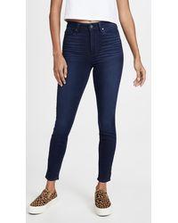 PAIGE Margot Ankle Skinny Jeans - Blue