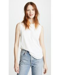 James Perse - Easy Muscle Tank Top - Lyst