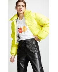 MISBHV - Yellow Down Jacket - Lyst