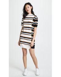 Maison Kitsuné - Surf Stripe Dress - Lyst
