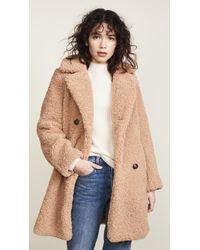 Mkt Studio - Madime Sherpa Coat - Lyst