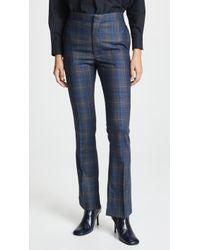 Toga Pulla - Wool Check Vent Pants - Lyst