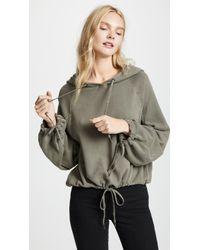 Splendid - Hooded Pullover - Lyst