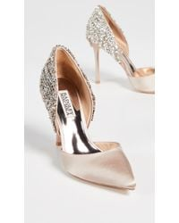 Badgley Mischka - Volare Point Toe Court Shoes - Lyst
