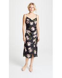 Re:named - Floral Slip Dress - Lyst
