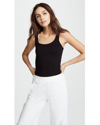 James Perse - Brushed Jersey Long Tank - Lyst