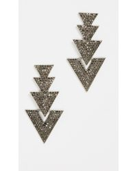 BaubleBar - Davita Drop Earrings - Lyst
