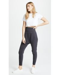 Free People - Movement Echo Harem Trousers - Lyst