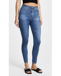 AG Jeans - The Mila Ankle Skinny Jeans - Lyst