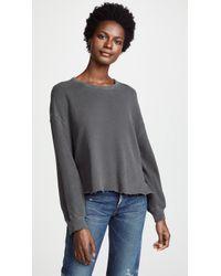 The Great - The Cutoff Sweatshirt - Lyst
