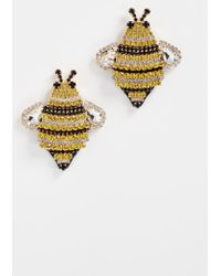 Kate Spade - Picnic Perfect Bee Statement Studs - Lyst