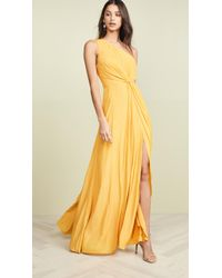 Ramy Brook Linley Dress - Yellow