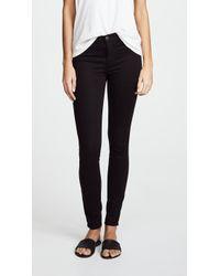 J Brand - 485 Super Skinny Luxe Sateen Jeans - Lyst