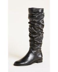 Stuart Weitzman - Flatscrunchy Boots - Lyst