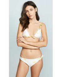 For Love & Lemons - Savannah Bikini Top - Lyst