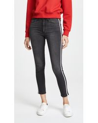 Joe's Jeans - Charlie High Rise Skinny Ankle Jeans - Lyst
