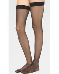 Wolford - Individual 10 Stay Up Tights - Lyst