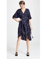 Diane von Furstenberg - Eloise Silk Wrap Dress - Lyst