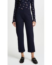 Three Dots | Ponte Trousers | Lyst