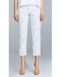 Cynthia Rowley - Crossfade Lace Pants - Lyst