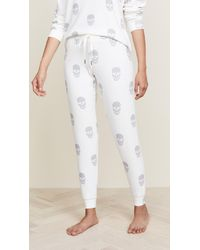 Pj Salvage - Simple Skull Pj Bottoms - Lyst
