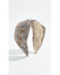 NAMJOSH - Metallic Embellished Headband - Lyst