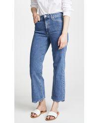 Joe's Jeans - Cropped Flares With Wavy Hem - Lyst