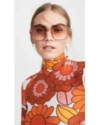 Gucci Light Glasant Sunglasses - Multicolour