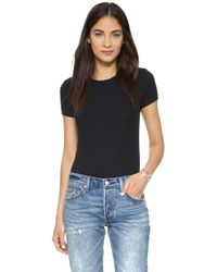 Only Hearts - Rib T-shirt Bodysuit - Lyst