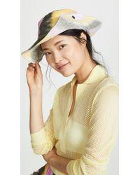 Ganni - Denim Hat - Lyst
