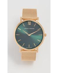 Larsson & Jennings - Lugano Solaris Watch, 40mm - Lyst