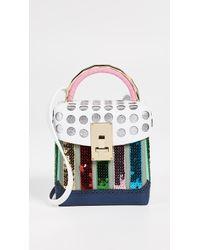 the VOLON - Rainbow Box Bag - Lyst