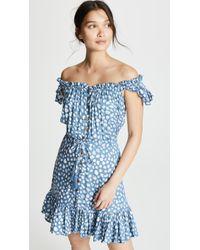 Tiare Hawaii - Rose Short Dress - Lyst