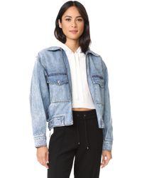 Jason Wu - Oversized Denim Jacket - Lyst