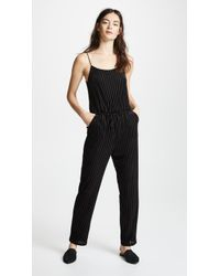 Only Hearts - Velour Rib Jumpsuit - Lyst