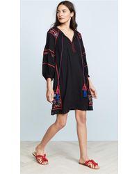 Velvet - Embroidered Dress - Lyst