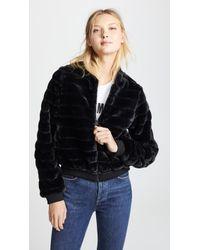Line & Dot - Aspen Faux Fur Jacket - Lyst
