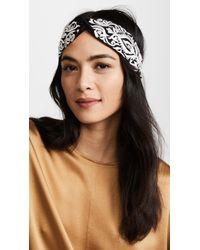NAMJOSH - Embroidered Turban Headband - Lyst