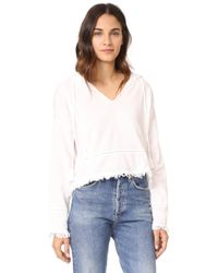 Sincerely Jules - Lightweight Hoodie Top - Lyst