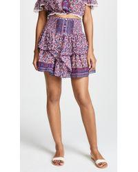 Poupette - Honey Miniskirt - Lyst