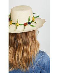 Mercedes Salazar - Tutti Frutti Hat - Lyst