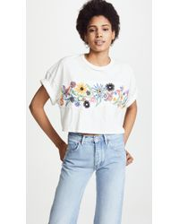 Free People - Garden Time Tee - Lyst