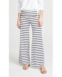 BB Dakota - Striped High Waist Wide Trousers - Lyst