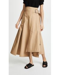 3.1 Phillip Lim - Utility Belted Skirt - Lyst