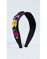 NAMJOSH - Multi Floral Headband - Lyst