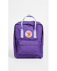Fjallraven - Kanken (pink/air Blue) Backpack Bags - Lyst