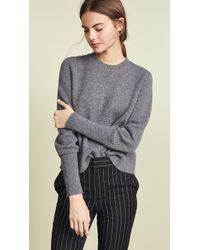 FRAME - Chunky Wool Sweater - Lyst