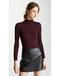 Courreges - High Neck Sweater - Lyst