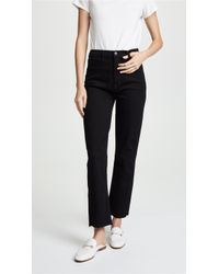 J Brand - Stovepipe Straight Jeans - Lyst