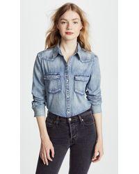 AG Jeans - Deanna Shirt - Lyst